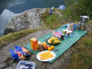Aurlandsfjord and Nærøyfjord camp sites