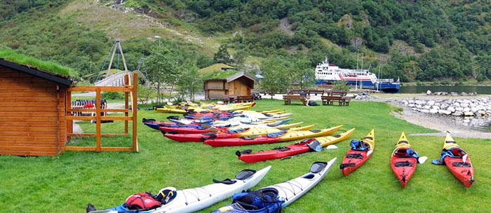Gudvangen Norway - Sea Kayak Center - Incredible Norwegian Tours