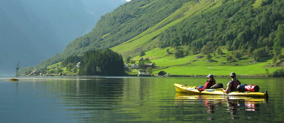 Norwegian Fjords Sea Kayaking Nordic Ventures