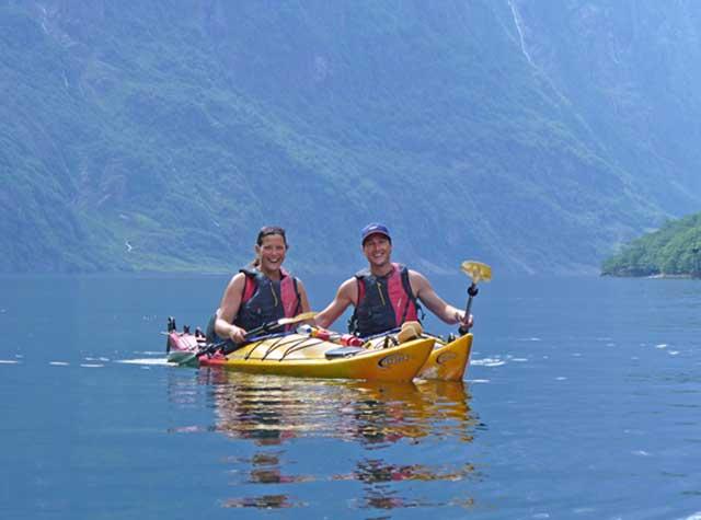 Norwegian Fjordss Nordic Ventures guided sea kayaking