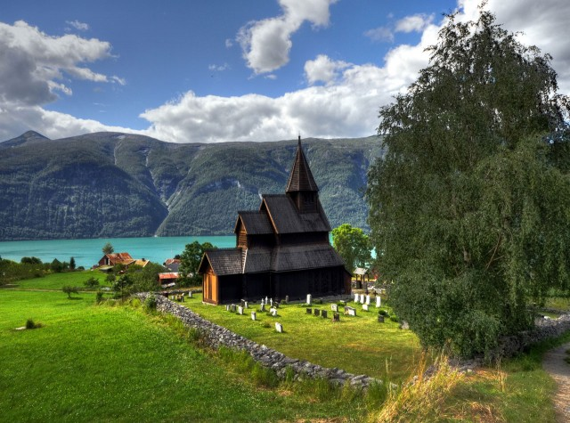 Western Norway churches Hiking-Tours-nordic-ventures
